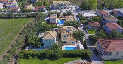 Anthemis Lefkada Villas Drone